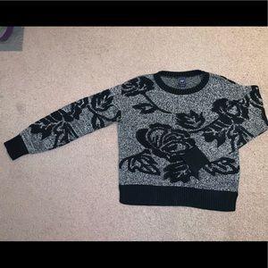 Gap leaf/floral Sweater